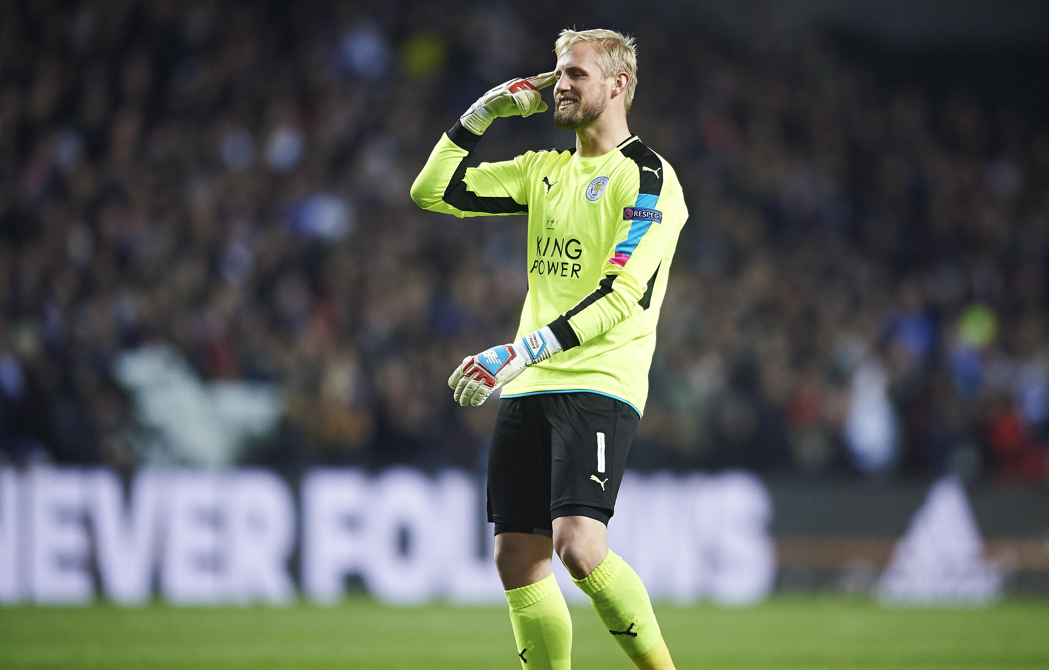 Leicester City Claudio Ranieri hails Kasper Schmeichel heroics